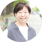 センター長 佐塚 玲子 Reiko Satsuka